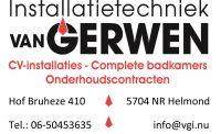 """Installatie techniek """"van Gerwen"""""""
